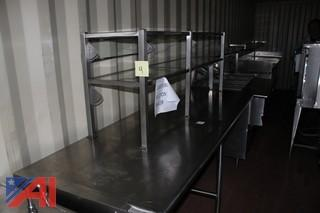 Stainless Steel Hot Serving Line