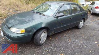 2001 Chevrolet Prizm 4DSD