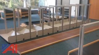 (4) Library Style Bookshelves