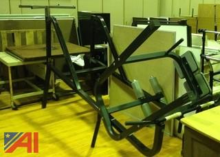 Various Chairs, Exercise Weight Bench