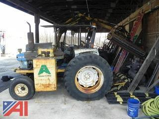 1989 Ford 5610 Tractor w/ Side Brush Cutter Arm