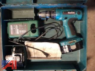 Lot of Chain Saws and Power Tools