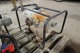 (2) Honda Trash Pumps