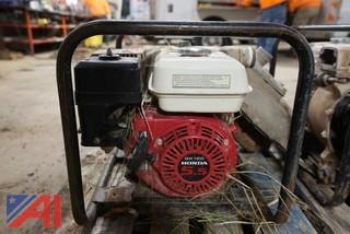 "(2) Portable 2"" 5Hp Trash Pumps"