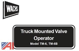 Wachs Truck Mount Gate Valve Operator