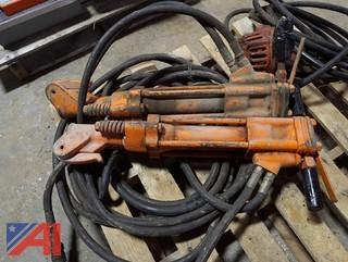 (5) Piece Hydraulic & Air Operated Pump, Saw, Jack Hammers