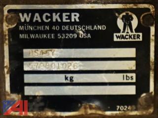 Wacker Jumping Jack/Tamper