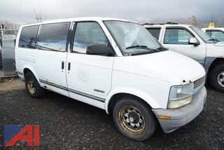**Lot updated** 1995 Chevy Astro Passenger Van/552