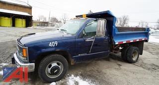 1994 Chevy Cheyenne 3500 Dump Body Truck