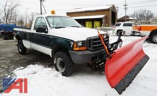 1999 Ford F250 XL SD Pickup Truck & Plow