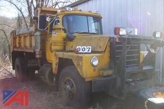 1989 Mack RD688P Dump
