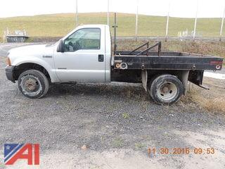 2007 Ford F350 XL Flat Bed