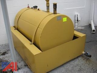Waste Oil Tank with Containment
