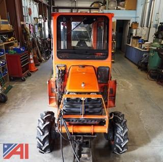 2003 Kubota B7800 Tractor with Attachments