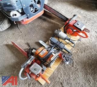 5) Pc Chain Saws Buffer & Angle Grinder