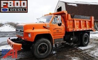 1993 Ford F800 Dump Truck