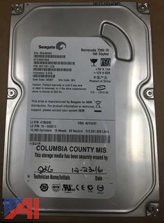 Lot of (19) Seagate 160GB Hard Drives SATA