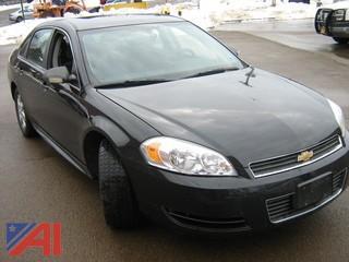 2011 Chevrolet Impala Police 9C3 4DSD