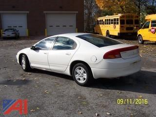 2002 Dodge Intrepid 4 Door