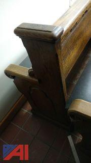 (8) Old Church Pews