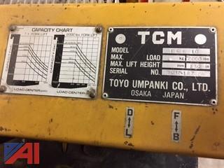 TCM ECB 10 Fork Lift
