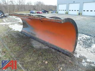 2012 Tenco 4 Way Plow with New Carbide and Cover Plate