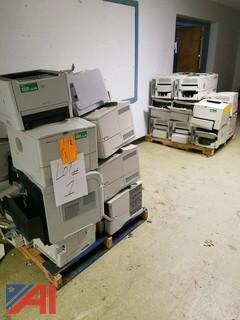 (162) Various Hewlett Packard Printers