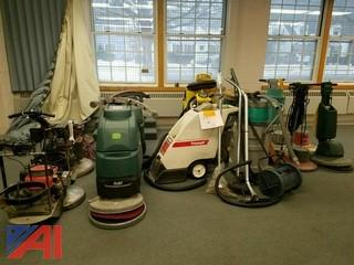 Lot of (12) floor machines