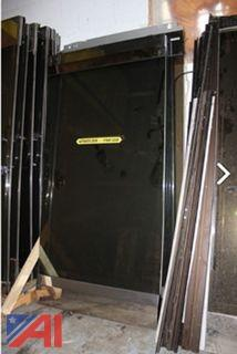 Large Lot of Commercial  Glass Doors