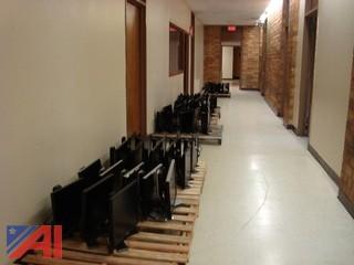 Lot of 58 Flat Screen Computer Monitors