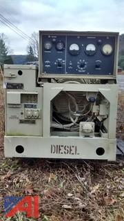 1986 Military Diesel 10kW Continuous Generator