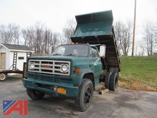 1988 GMC 7000 Dump