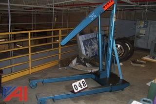 Ruger Equipment Company 2000lb Engine Hoist