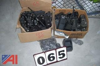 Large Lot of Tekk and Maxon Portable Two Way Radios