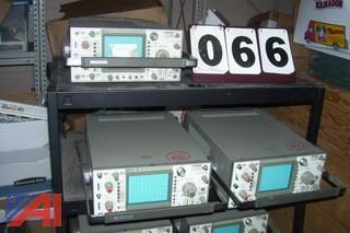 (3) Leader LBO-516 Oscilliscopes