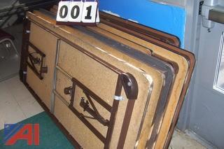 (11) Folding Tables