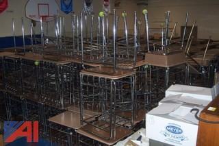 Large Lot of Elementary School Desks and Chairs