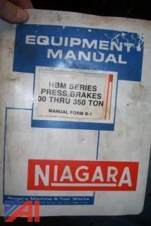 Niagara 135 Ton Press Brake