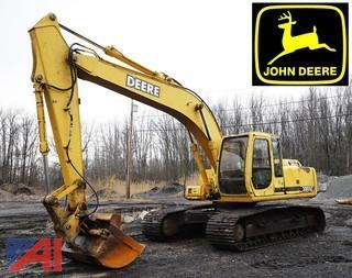 1999 John Deere 200LC Wide Track Excavator