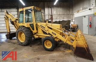 1981 Ford 555 Wheel Loader Backhoe