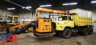 1978 Ford 9000 Dump Truck with 2002 Tarco Leaf Vac