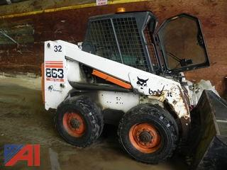 1999 Bobcat 863 High Flow Skid Steer