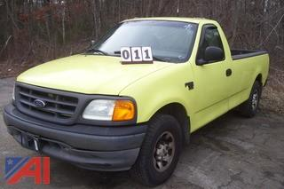 2004 Ford F150 4x2 Pickup E# 34955