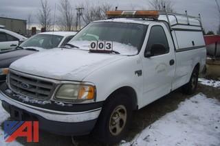 2000 Ford F150 4x2 Pickup