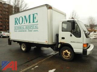 2001 Isuzu NBR Box Truck