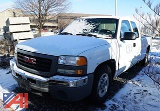 2004 GMC Sierra Extended Cab Pickup Truck