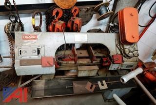 Ridgid 115V Horizontal Metal Cutting Bandsaw
