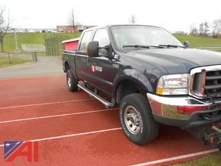 2004 Ford F350 Crew Cab Pickup