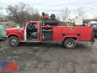 1995 Ford F450 Super Duty Service Truck