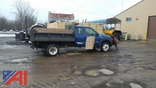 2005 Ford F450 Dump with Plow